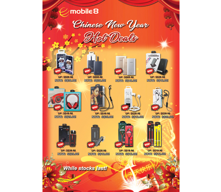 CNY Hot Deals on Accessories!