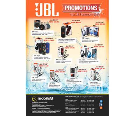 JBL PROMOTIONS